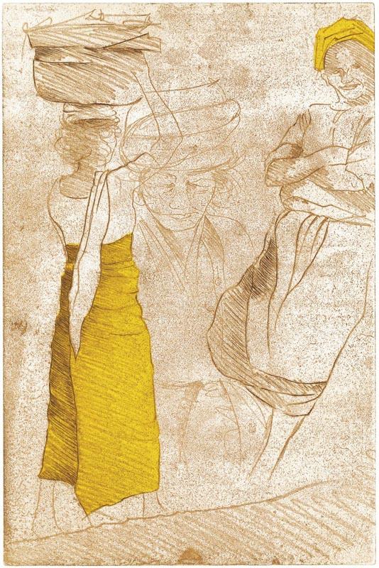 Sabine Drösler: Indische Skizzen