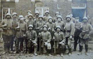 Soldaten aus Valley im Ersten Weltkrieg