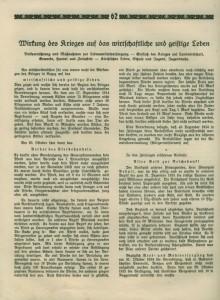 Kriegschronik Valley 1914