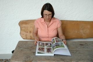 Margarethe Cyllok leitet die Plattlergruppe