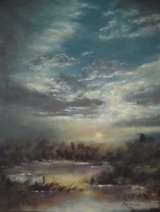 Gemälde von Max Seidel aus Valley