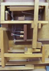 Orgelzentrum Valley Schnittmodell Altes Schloss Orgel