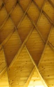Orgelzentrum Valley Zollingerhalle Dachtragwerk