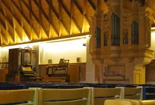 Orgelzentrum Valley Zollingerhalle mit Rokokoorgel