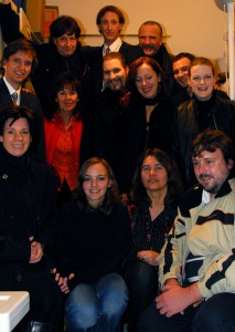 Theatergruppe Valley Tod von Woody Allen 2007 Gruppenbild